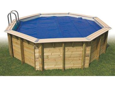 Bâche à bulles été pour piscine octogonale Ø430 cm