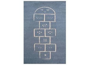 ART Tapis enfant bleu Marelle Art For Kids