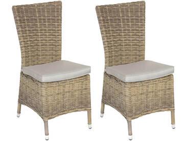Lot de 2 chaises de jardin Mooréa Naturae