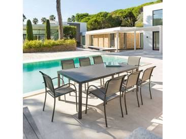 Table de jardin rectangulaire Piazza Tonka