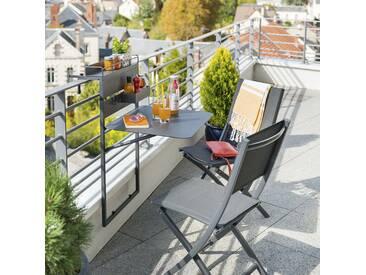 Tablette de balcon repliable Fira Graphite