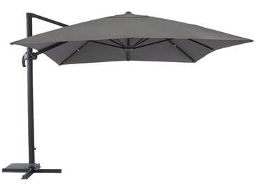 Toile de parasol déporté Fresno Ardoise