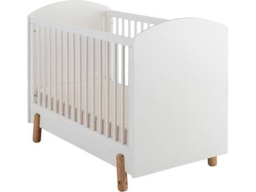 Lit bebe 60x120cm blanc Alinéa