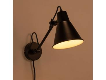 Applique orientable en métal noir H30xD14cm Alinéa