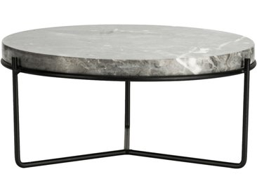 Plateau décoratif marbre gris D25,5 cm Alinéa