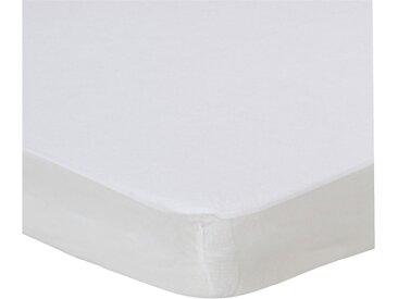 Protège-matelas imperméable en coton 90x200 cm bonnet 28cm Alinéa