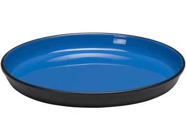 Plateau en métal intérieur émaillé Bleu D20 cm Alinéa
