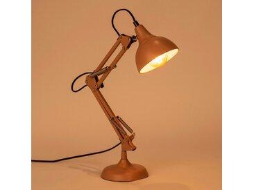 Lampe en métal grège H65x12cm Alinéa