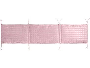 Tour de lit rose pour lits 60x120cm ou 70x140cm Alinéa