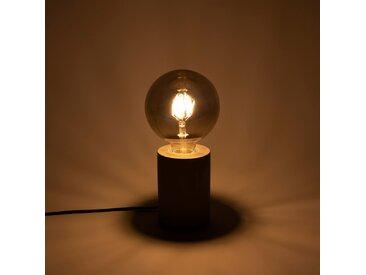 Ampoule LED décorative grise D12,5cm culot E27 Alinéa