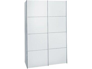 Armoire 2 portes coulissantes blanc en bois Alinéa