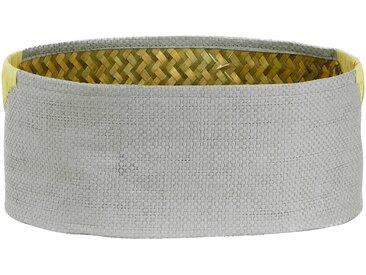 Panier de rangement ovale gris 35x25xh14cm (grand modèle) Alinéa 9421bb9aba6