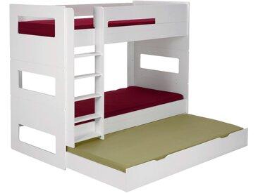 Tiroir de lit à roulettes Blanc Alinéa
