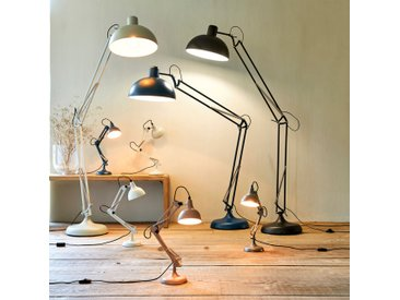Lampe en métal blanc H65x12cm Alinéa