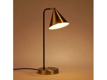 Lampe en métal doré H43cm Alinéa