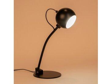 Lampe en métal noir H45cm Alinéa