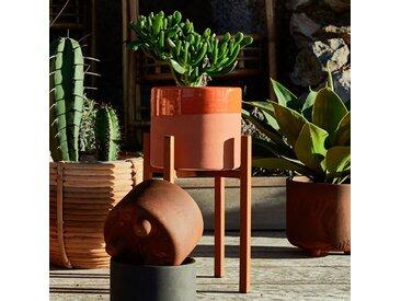 Cache-pot en céramique orange H8,5 cm Alinéa