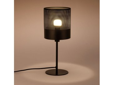 Lampe en métal noir H40cm Alinéa