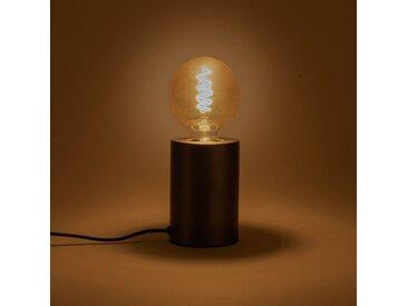 Lampe à poser sensitive grise H12,5xD9cm Alinéa