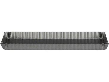 Moule à tarte rectangulaire en acier carbone 35,5cm Alinéa