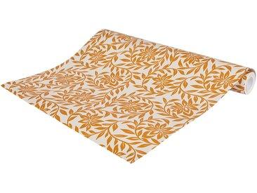 Papier peint intissé motif jasmin beige nèfle 53cm x 10m Alinéa