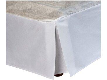 Cache-sommier Blanc 32 cm - 90x200 cm Alinéa