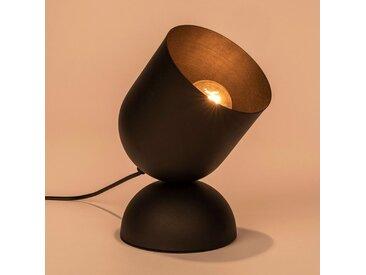 Lampe à poser en métal noir H25,5cm Alinéa