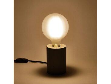 Ampoule LED verre dépoli D12cm blanc chaud culot E27 Alinéa