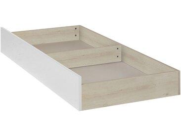 Tiroir de lit à roulettes effet cerisier blanchi - L200 cm Alinéa