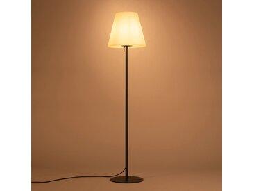 Lampadaire en métal et abat-jour lumineux blancH150cm Alinéa