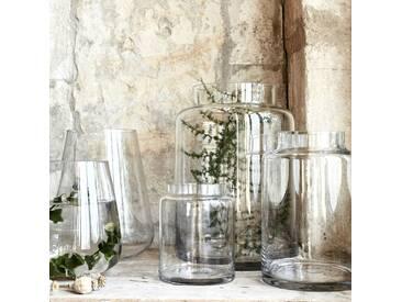 Vase en verre transparent (plusieurs tailles) Alinéa