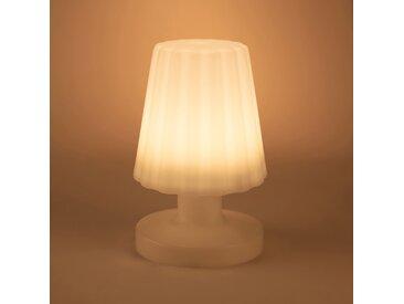 Lampe à poser nomade blanc h21cm Alinéa