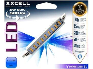 Ampoule LED blanc froid culot RS7 Alinéa
