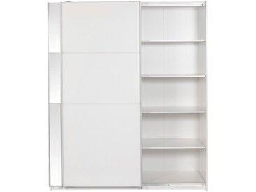 Armoire 2 portes coulissantes Blanc Alinéa