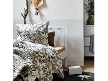 Lit 1 place en bois avec tête de lit à barreaux Blanc capelan - 90x200 cm Alinéa