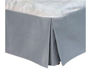 Cache-sommier gris 32 cm - 160x200 cm Alinéa