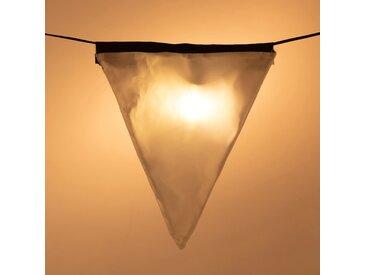 Guirlande lumineuse 10 fanions LED L7m Alinéa