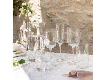 Lot de 6 flûte à champagne en verre 21cl (prix unitaire : 6.0 euros) Alinéa