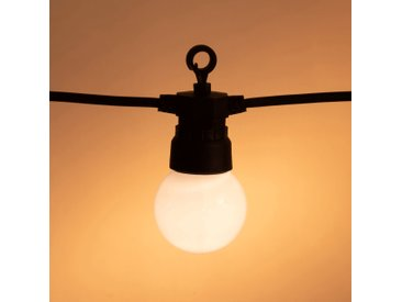 Guirlande lumineuse 20 LED blanc chaud L8,7m Alinéa