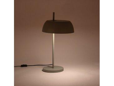 Lampe en métal vert olivier H54xD30cm Alinéa