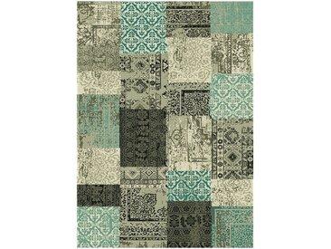 Tapis patchwork vert 160x230cm Alinéa