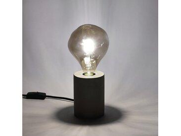 Ampoule décorative LED grise D12,5cm culot E27 Alinéa