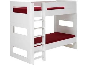 Lits superposés 1 place Blanc modulables - 90x200 cm Alinéa