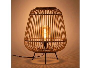 Lampe à poser en bambou naturel D42xH53cm Alinéa