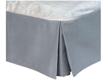 Cache-sommier gris 32cm - 200x200 cm Alinéa