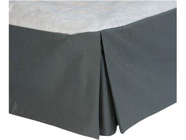 Cache-sommier gris anthracite 32cm - 140x200 cm Alinéa
