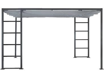 Pergola en aluminium avec 4 panneaux coulissants - 4x3m Alinéa