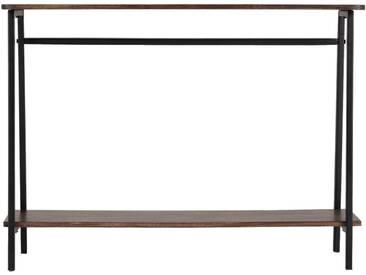 Console en bois de manguier et métal Alinéa