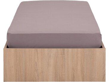 Lit-coffre 90x200cm effet chêne blanchi Alinéa