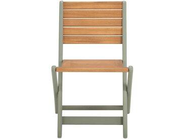 Chaise pour enfant 50x33x38cm vert olivier Alinéa